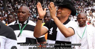 Moise Katumbi et le financement du club d'Anderlecht du Belgique