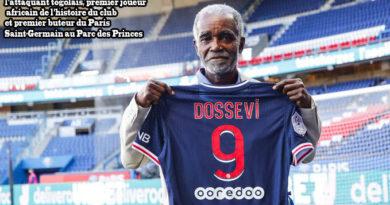Hommage à  Othniel Dossevi,premier buteur du Paris Saint-Germain