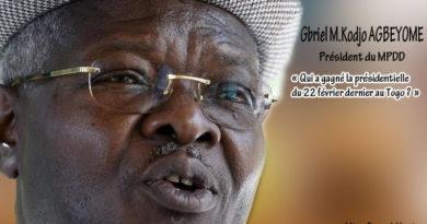 Qui a gagné la présidentielle du 22 février dernier au Togo?
